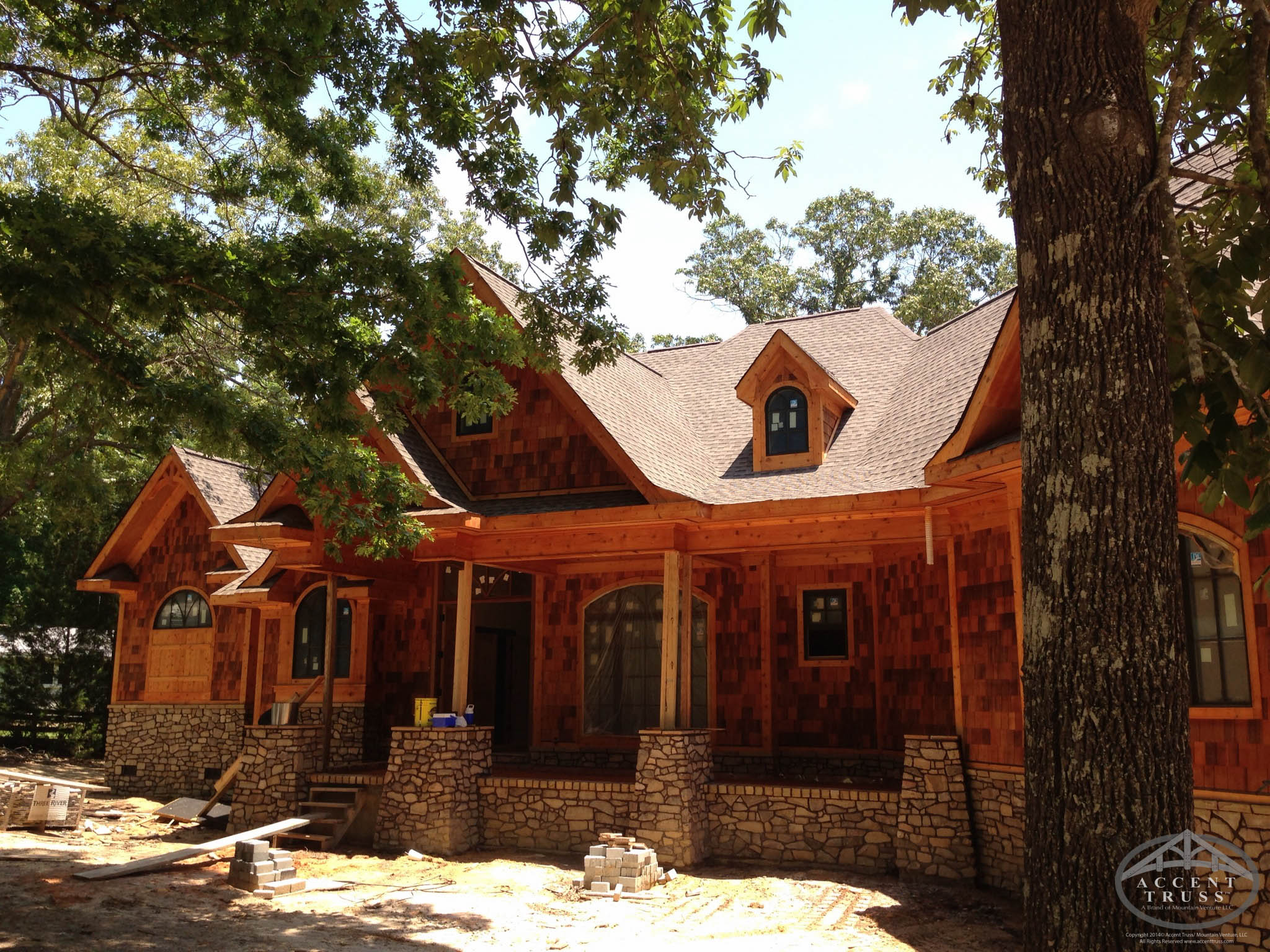 Custom Timber Frame Home Construction Company