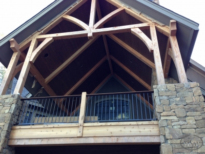Custom Timber Frame Home Construction Companyaccent Truss