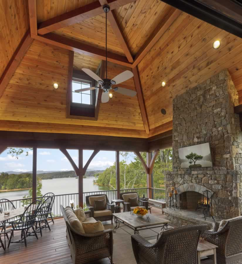 Timber Outdoor Living: Outdoor Living Gallery, Accent Truss Heavy Timber Trusses